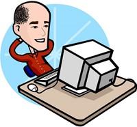 Cartoon Mr. Stevens