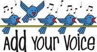 add your voice