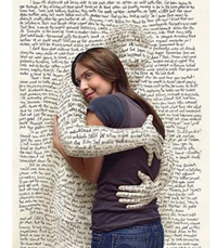 A hugging page